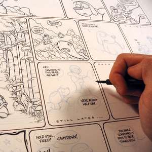 Graphic Narrative Course with Kazu Kibuishi