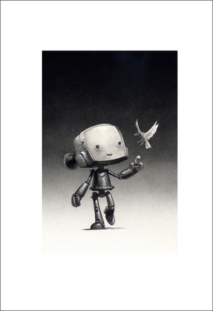 Robot and Sparrow, Jake Parker