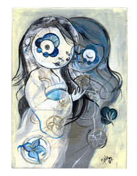 Twins in Blue 2, Cristina Natsuko Paulos