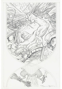 Monollth Drawing, James Jean