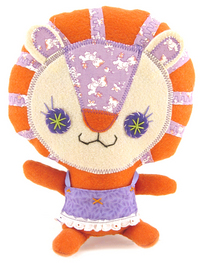Lucy Loo Tiger in Apron, Anna Chambers