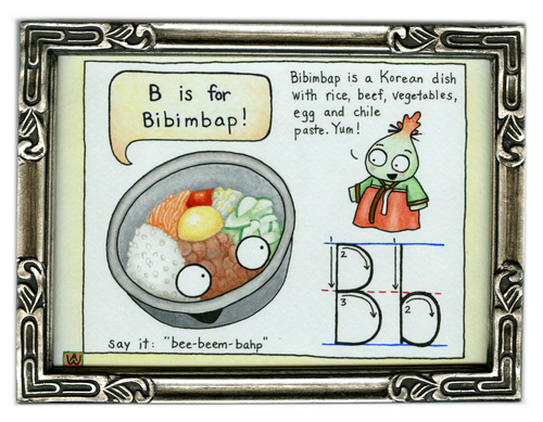 B is for bibimbap, Anna Woltz
