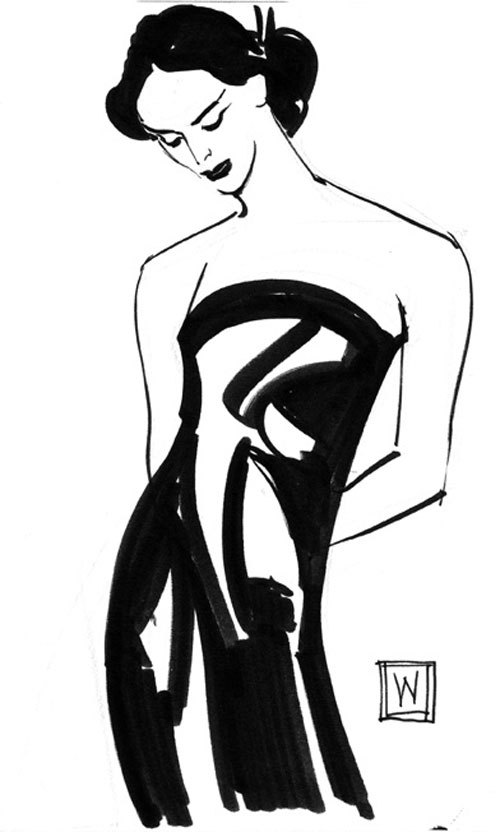 Untitled Sketch #7, John Watkiss
