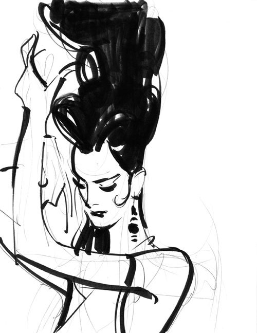 Untitled Sketch #20, John Watkiss