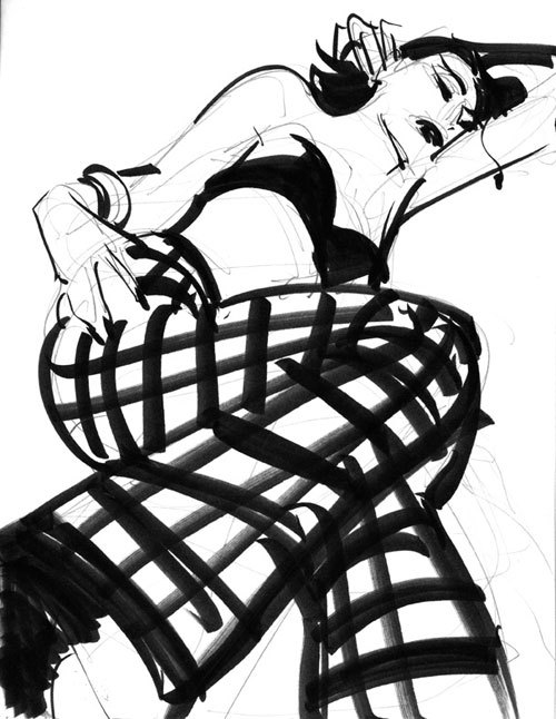 Untitled Sketch #21, John Watkiss