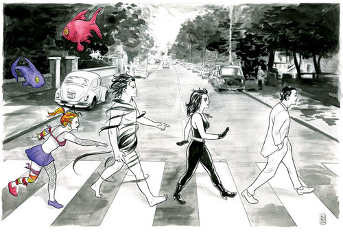 The Endless on Abbey Road, Michael Allred