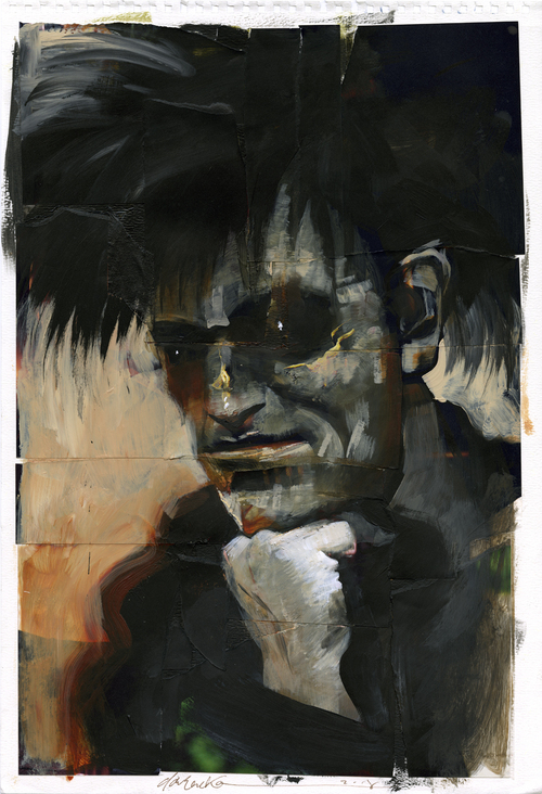 The Thinker, Dave McKean
