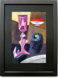 Martian Still Life With Chalice and Memory Stone, Lou Romano