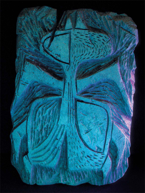 Early Martian Carvings 02, Lou Romano