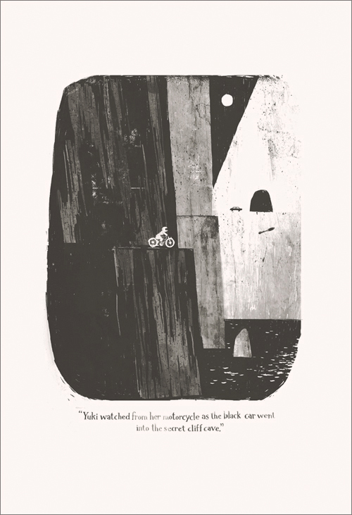 Yuki and the Secret Cliff Cave, Jon Klassen