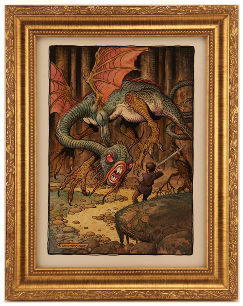 The Jabberwock, William Stout
