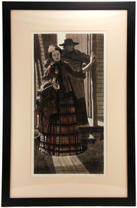The Hardman Pt. 2 (Cowboy & Girl), Robert Fawcett