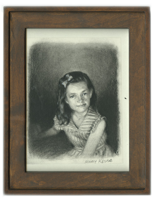 Girl with Bow, Nancy Kruse