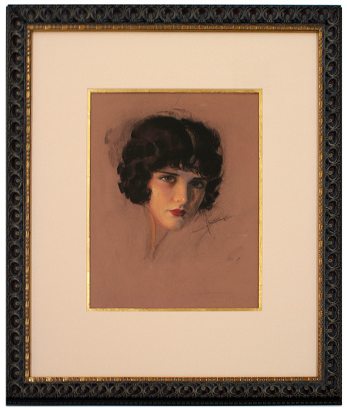 Portrait of Evelyn Brent, Rolf Armstrong