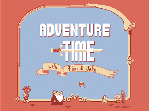 Adventure Time/SMB2 Mashup, Alex  Campos