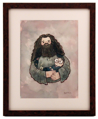 Hagrid Holding Harry, scott c