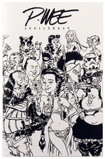 P.Wee sketchbook Vol.1 (Black and White), Paul Wee