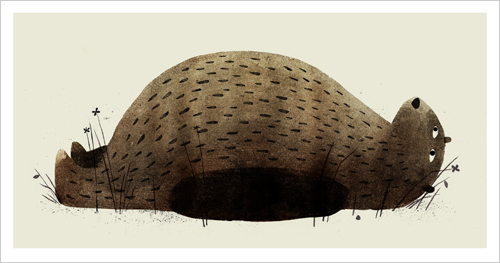I Want My Hat Back - Page 15 - 16 (Laying Down), Jon Klassen
