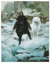 Jon Snow, Justin Sweet