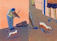 Dog and Violin, Hye Jin Chung