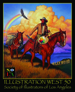 50th Annual Society of Illuators of Los Angeles Show Poster., Keith Batcheller