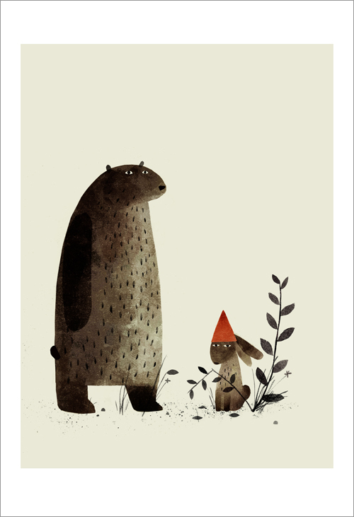I Want My Hat Back - page 07 (Rabbit) , Jon Klassen
