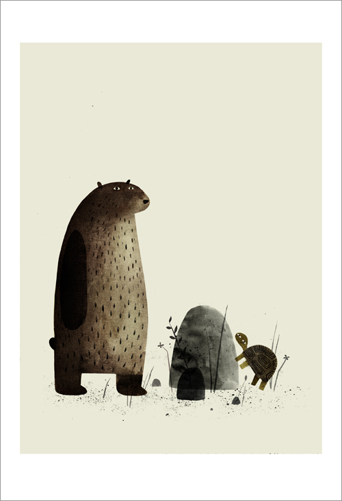 I Want My Hat Back - page 09 (Turtle) , Jon Klassen