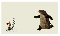 I Want My Hat Back - Page 23 - 24 (Confrontation), Jon Klassen
