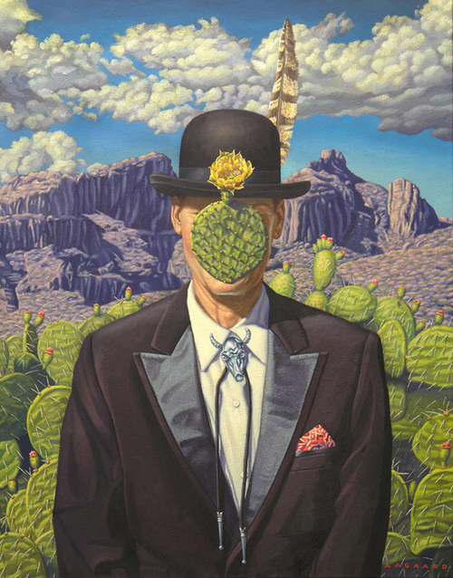 C'est Tucson (After Magritte), Gary Aagaard