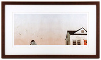 House Held Up By Trees - Page 11-12 (Winged Seeds) Framed/Signed , Jon Klassen