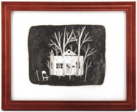 House Surrounded by Trees, Jon Klassen
