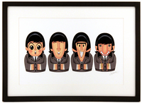 Untitled (Babushka Beatles), Stephen  Silver