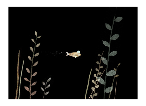 This Is Not My Hat - Page 07 (Small Fish), Jon Klassen