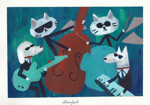 Cool Cats and Hot Dogs, Tiffany Ford