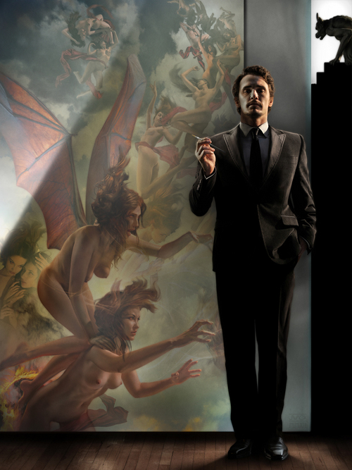 James Franco with Nemesis and the Erinyes, Jeff Wack