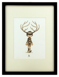 Antler Boy, Jake Parker
