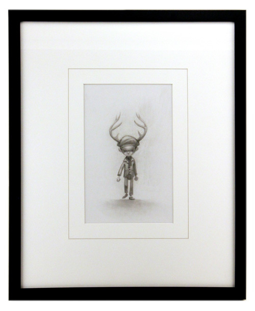 Antler Boy Pencil, Jake Parker