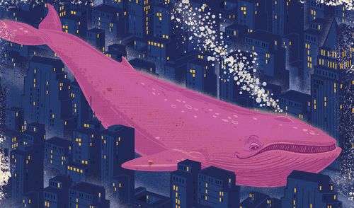 Whale In The City, Thomas Burns