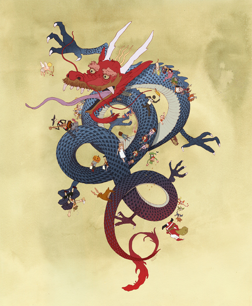 Year of the Dragon, Antoine Revoy