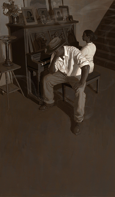 The Piano Lesson, Raymond  Bonilla
