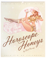 Horoscope Honeys: a Bill Presing Print Set, Bill Presing