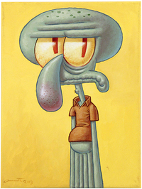 Squidward Scowl, Peter Bennett