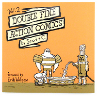 Double Fine Action Comics Vol. 2, scott c