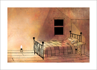The Dark - Page 6 (Laszlo's Room), Jon Klassen