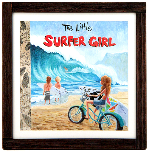 The Little Surfer Girl, Olga Stern