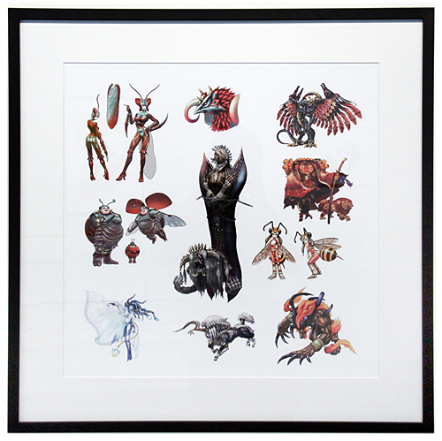 Concept Art Aeons, Various  FFX Artists
