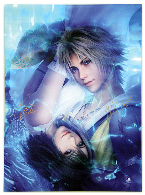 Yuna and Tidus (2013), Visual Works