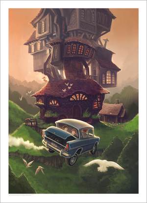 Harry Potter and the Chamber of Secrets, Kazu Kibuishi