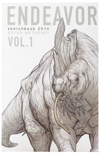 Endeavor Vol. 1 Sketchbook, Brynn Metheney