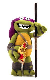 Pizza Power Up (Donatello), Felt Mistress